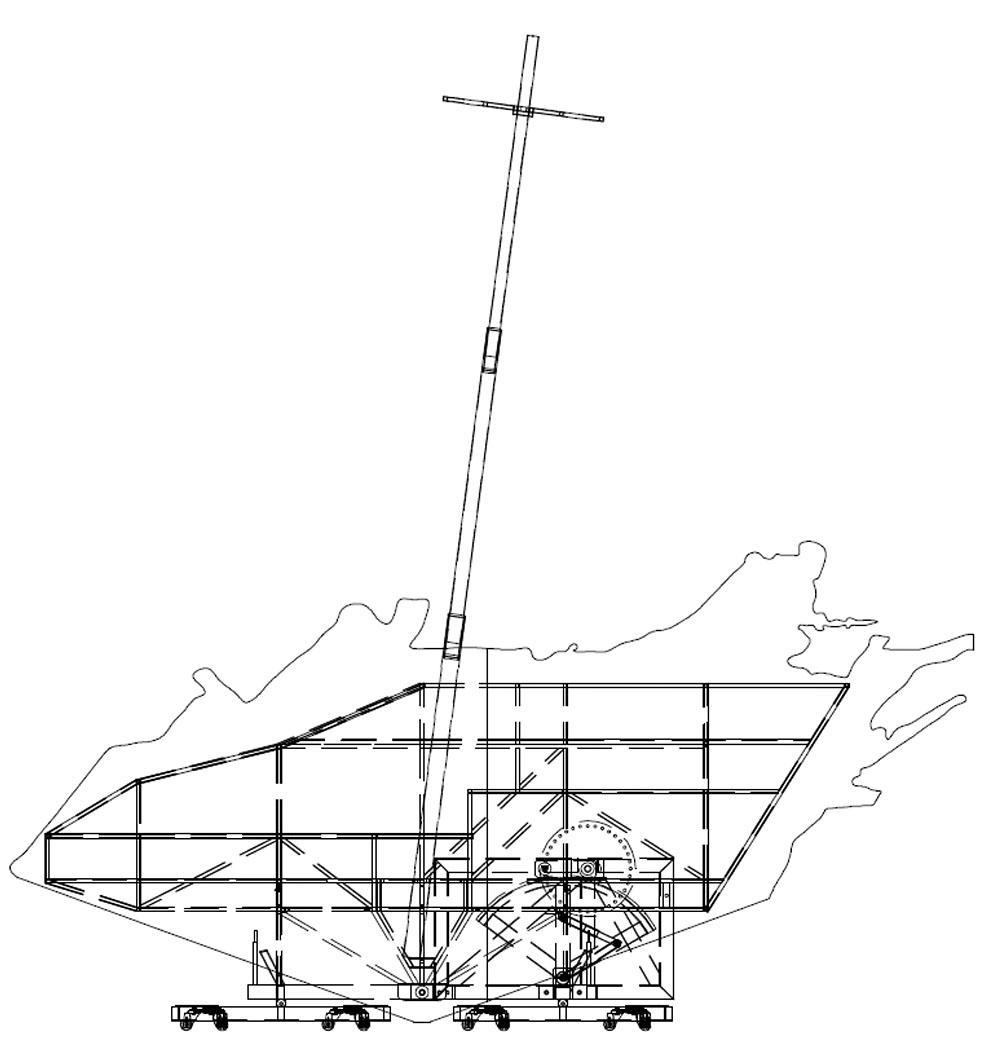 Le Corsaire Bühne Zeichnung (c) Götzenbrugger