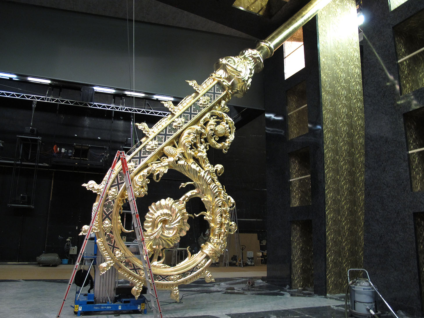 Bühne Mozart