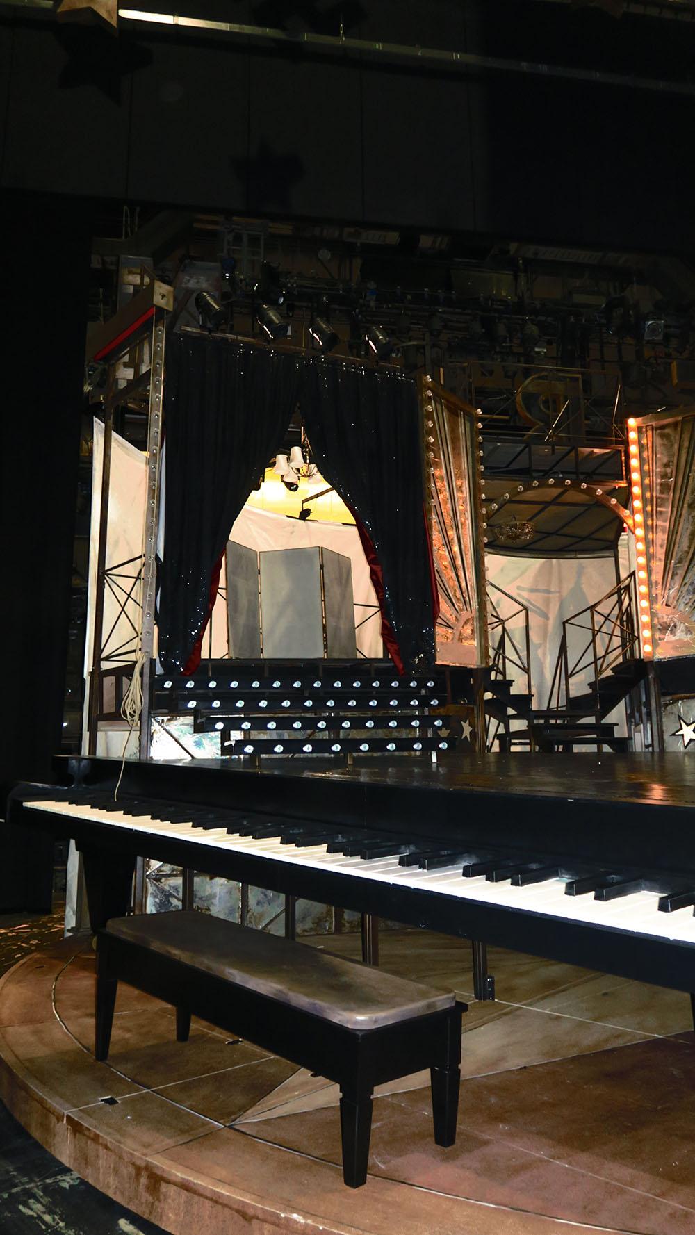 Volksoper Cabaret Bühne (c) Götzenbrugger